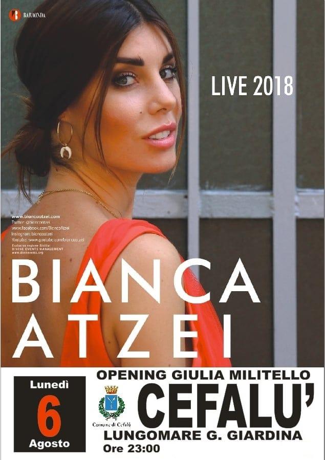 Volantino evento 6 agosto 2018 Cefalù