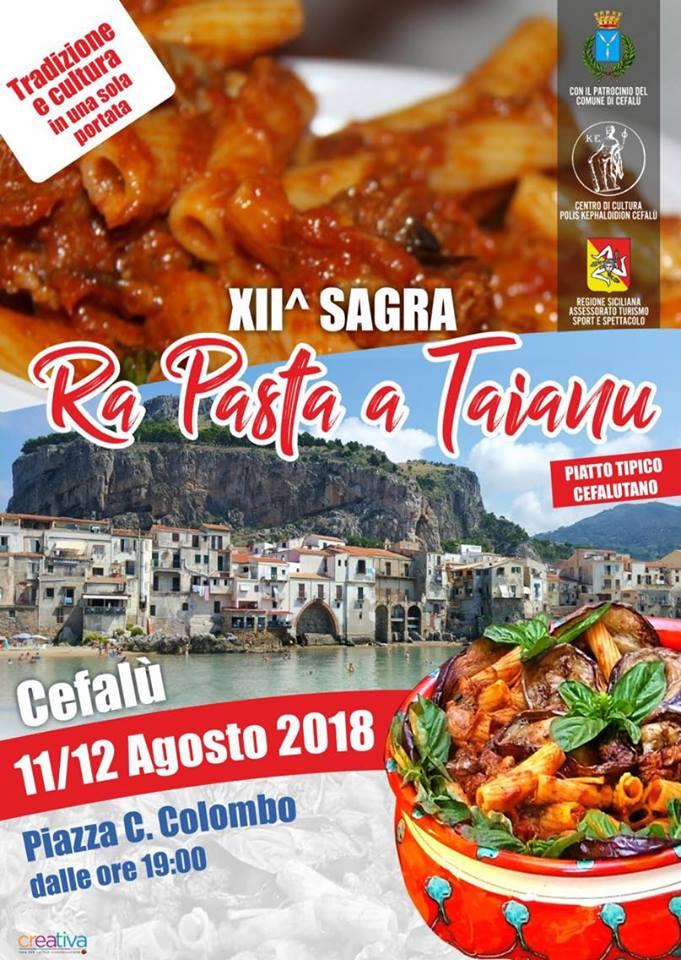 Volantino evento 11 e 12 agosto 2018 Cefalù