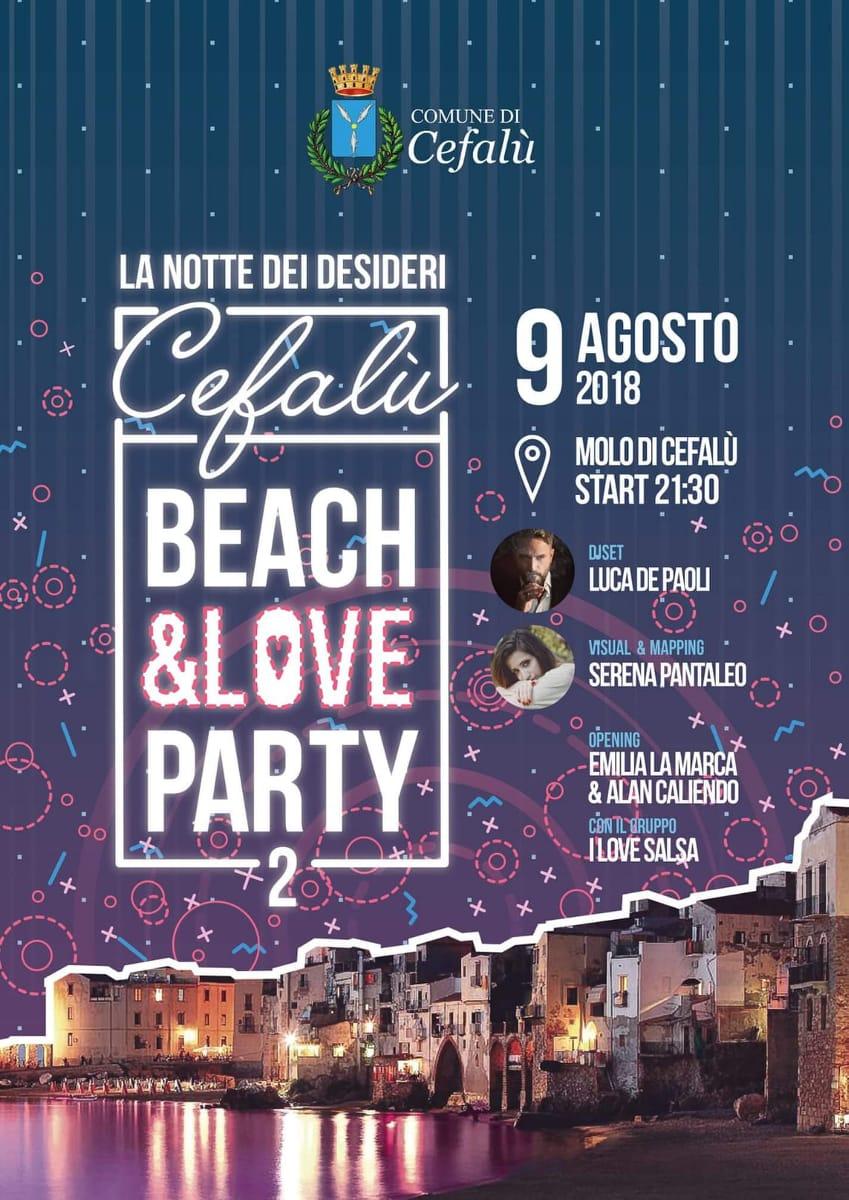 Volantino evento 9 agosto 2018 Cefalù