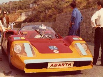 nino vaccarella abarth cefalù gibilmanna 1970