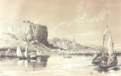 Moore Litografia 1840 cefalù
