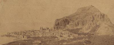 Foto Michele Brocato Panorama Cefalù 1888